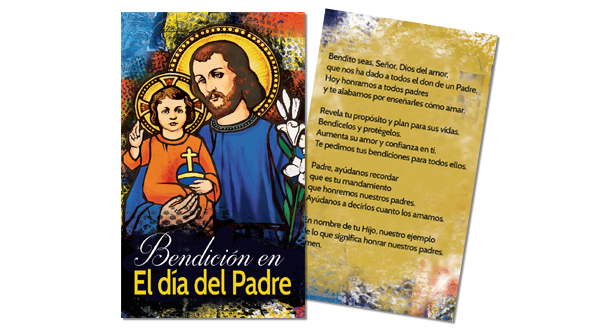 Father's Day Prayer Card (Spanish)