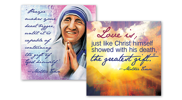 Mother Teresa Quotes Art Series