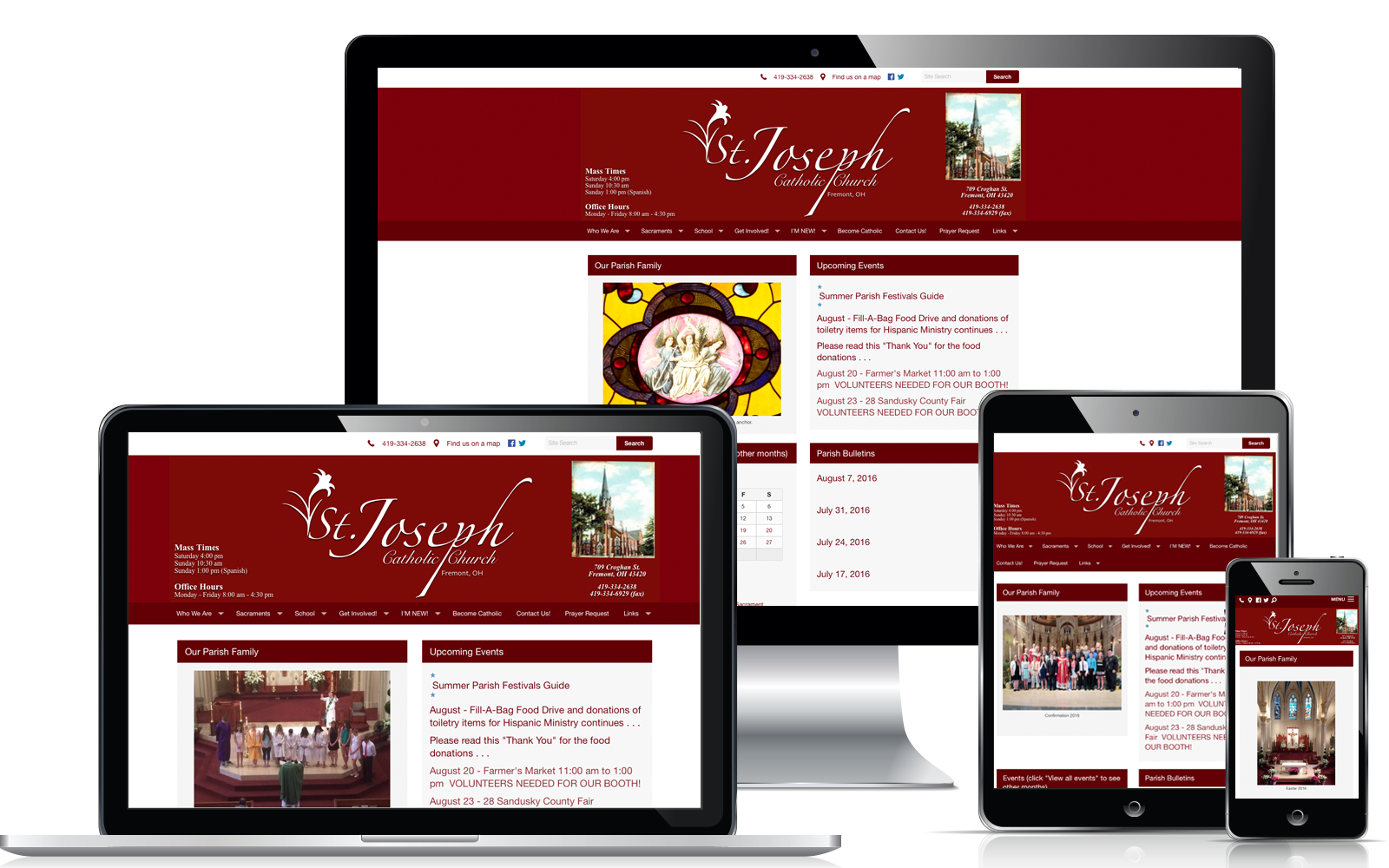 Best Catholic Website Design