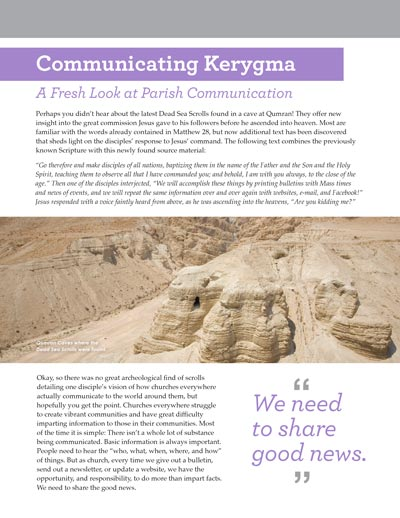 Communicating Kerygma