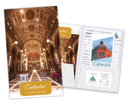 Church Printing: Church Welcome Packets