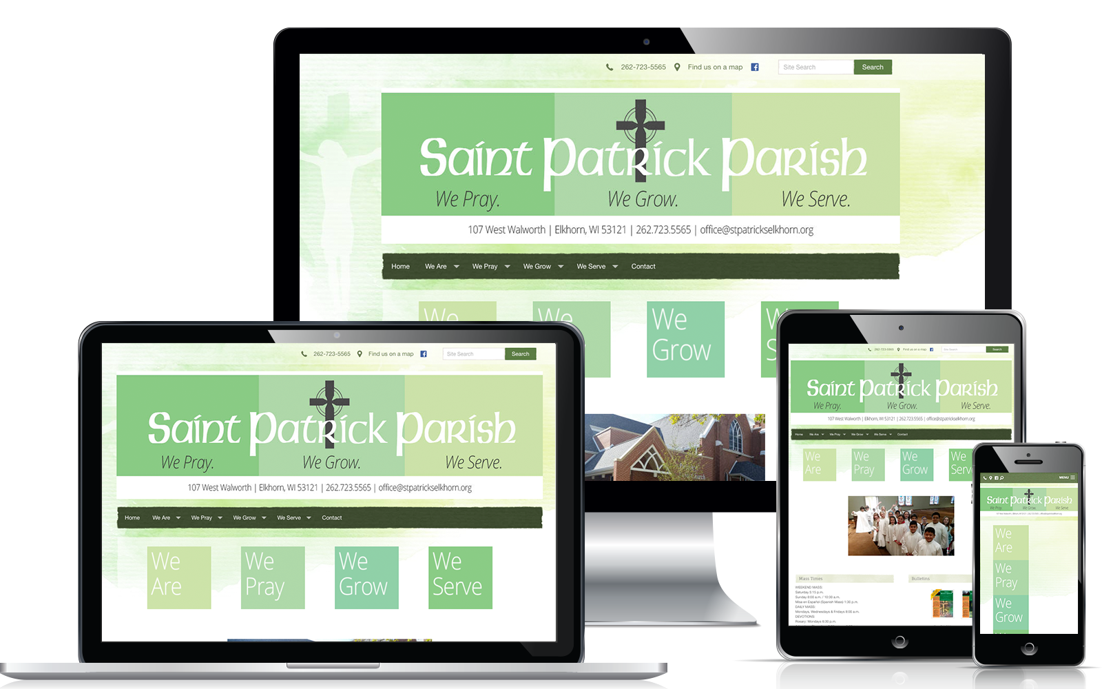 WeConnect Church Website - St. Patrick Parish