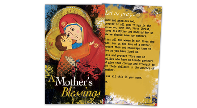 Mother's Day Prayer Card
