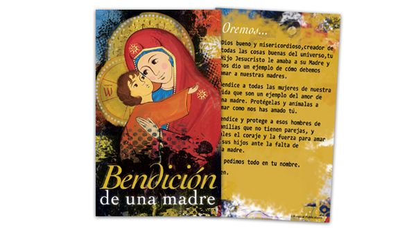 Mother's Day Prayer Card (Spanish)