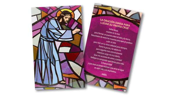 Way of the Cross Prayer Cards (Spanish)
