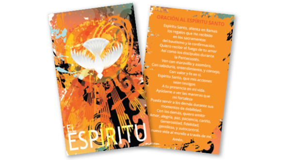 Confirmation Prayer Card (Spanish)