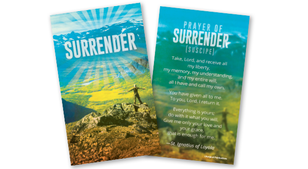 Surrender Prayer Card