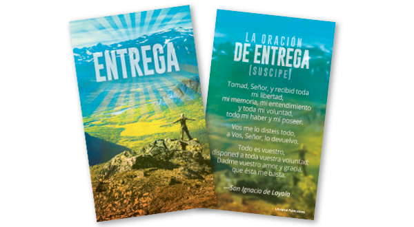 Surrender Prayer Card (Spanish)