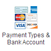 Payment Types and Bank Account