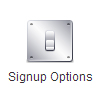 Signup Options