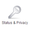 Status and Privacy