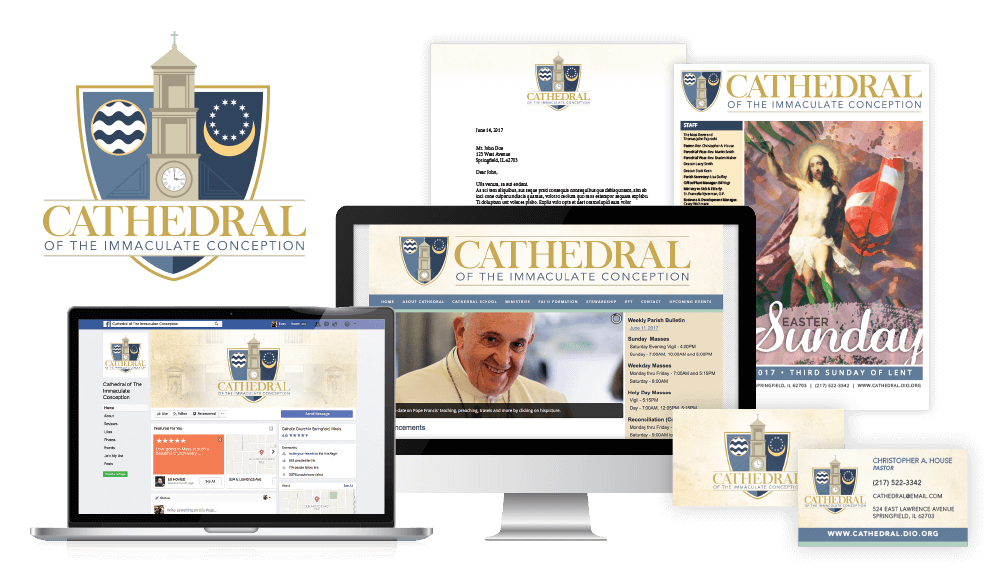 Cathedral of the Immaculate Conception Branding
