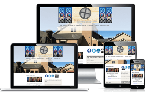 WeConnect Church Websites: St. Thomas More