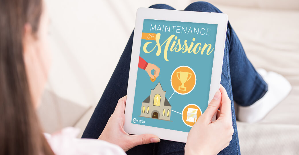 'Maintenance or Mission' read on tablet