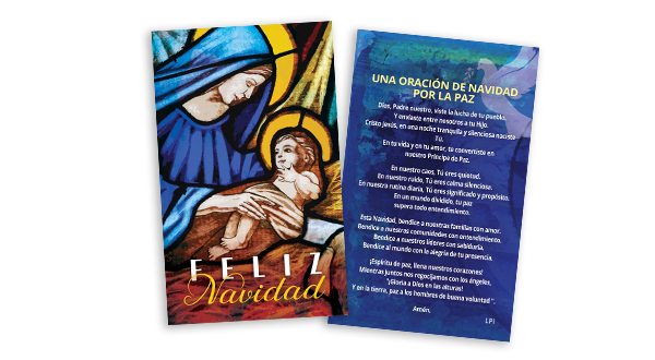 Christmas Prayer Card (Spanish)