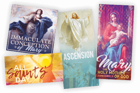 Holy Days of Obligation Art Series