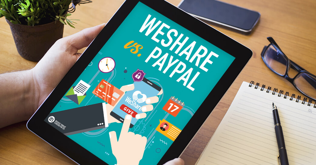 WeShare Vs. PayPal