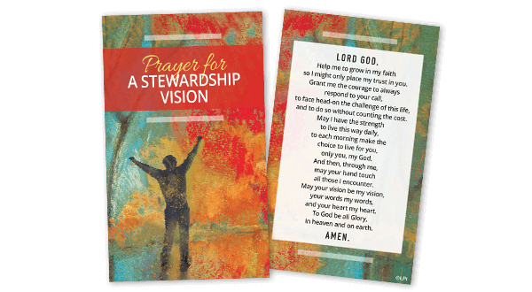 Stewardship Vision Prayer Card