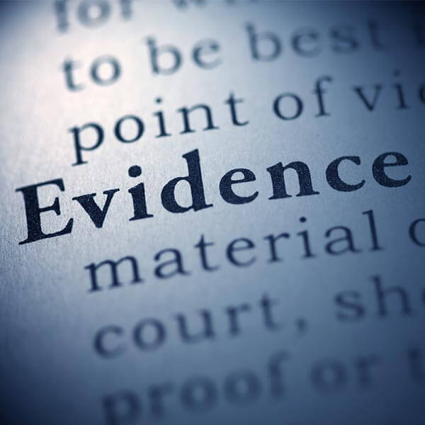 Where Is the Evidence?