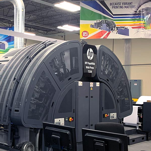 LPi's Florida Printing Site Updates Facility with New HP Printer