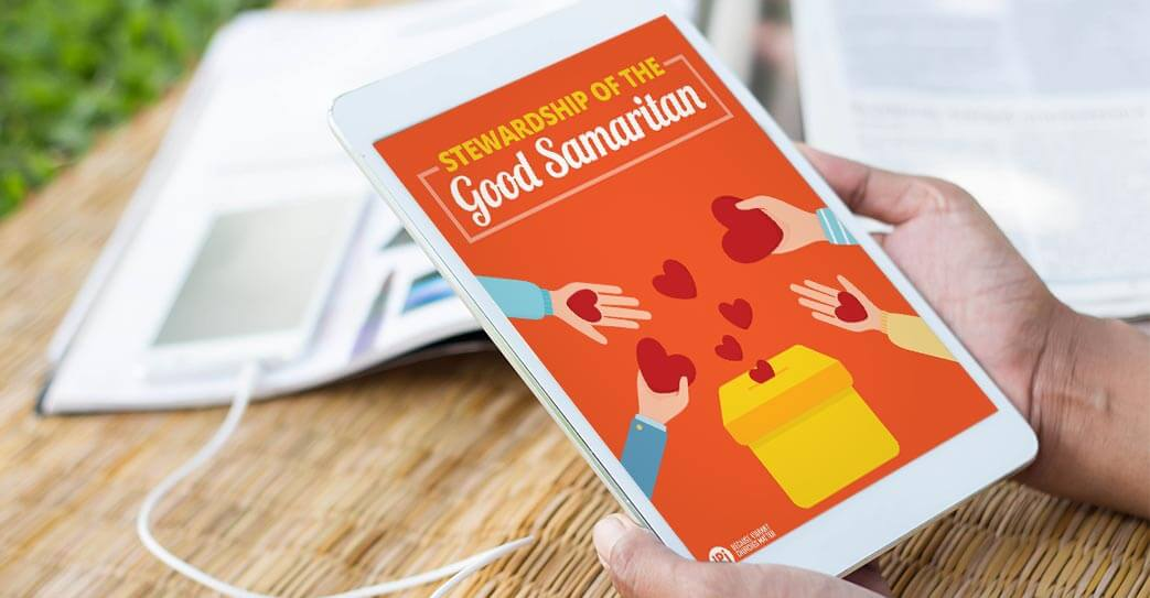 The Stewardship of the Good Samaritan read on tablet