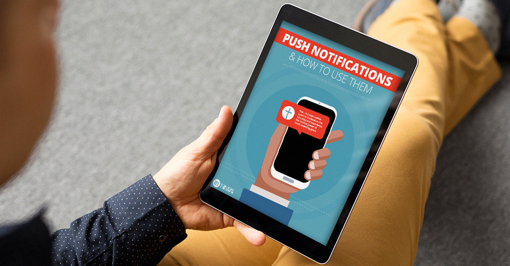 'Push Notifications' Resource on tablet