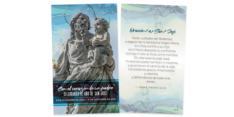 Year of St. Joseph Prayer Card (Spanish)